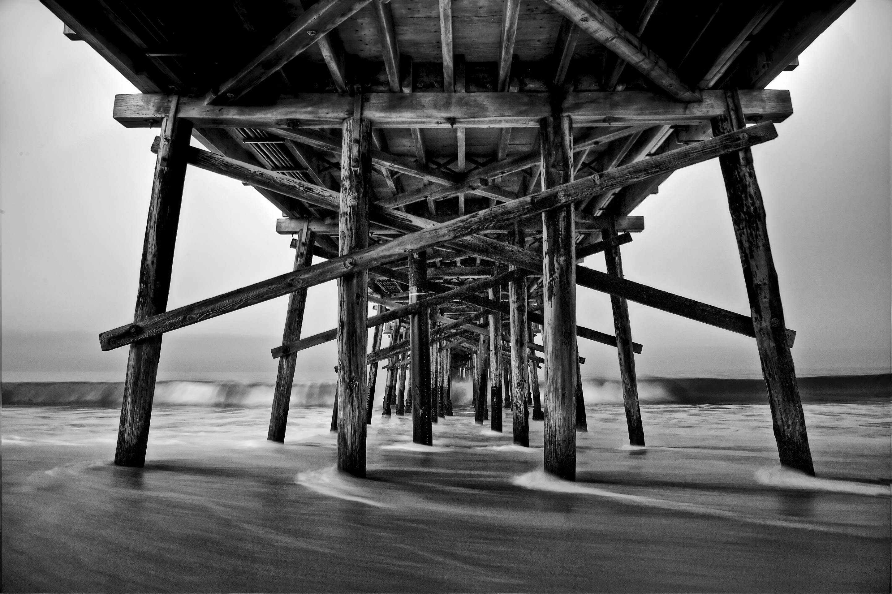 under the board walk
